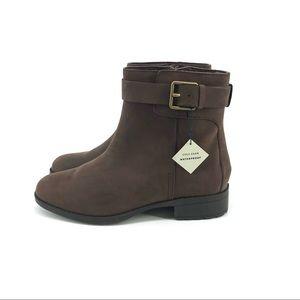 Cole Haan Leather Boots 7.5 Brown Waterproof